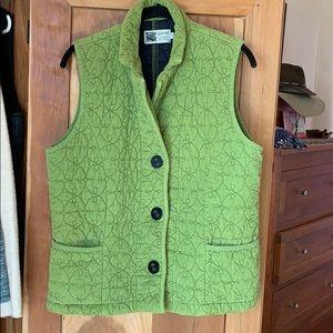Habitat Women's quilted vest pockets large